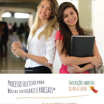 Inscrições Programa Bolsa Universitária OVG 2016/1
