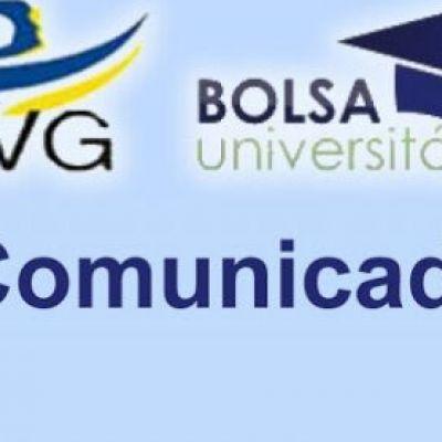 Atenção Bolsistas OVG!
