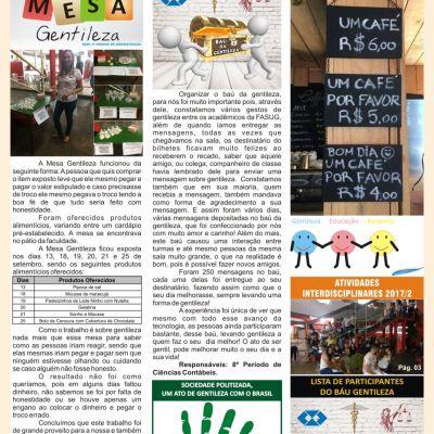Jornal Gentileza n3: O segredo da felicidade