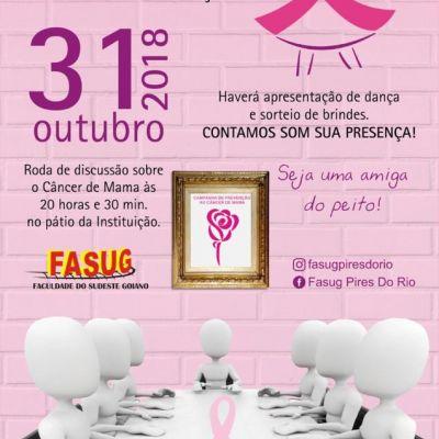 Campanha de prevenção ao câncer de mama