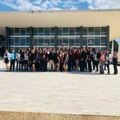 Visita técnica no Congresso Nacional e STF